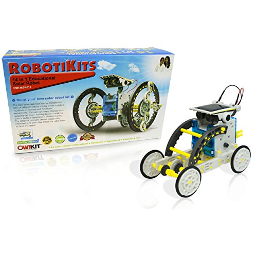 OWI  14-in-1 Solar Robot (Solar Robot Toy compare prices)