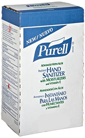 PURELL 2237-04 Advanced Instant Hand Sanitizer with Aloe, 2,000 mL NXT Maximum Capacity Refill (Case of 4)