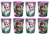 Disney Frozen 16 oz Plastic Cups - 8 PACK