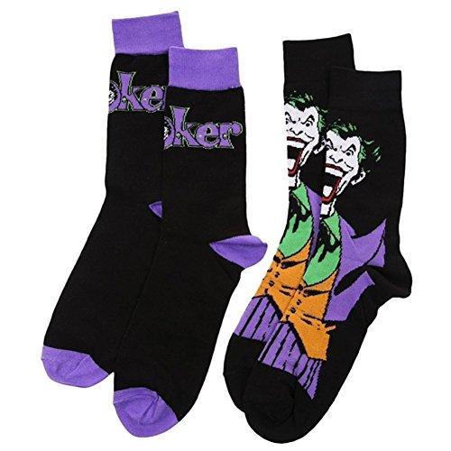 Calze The Joker DC Comics (Pacco Da 2) - Taglia Unica