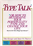 img - for By Otto Kroeger - Type Talk (1/31/88) book / textbook / text book