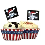 Party Pirate Cupcake Kit (48 pieces)