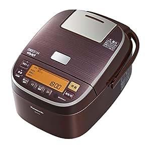 パナソニック おどり炊き 可変圧力IHジャー炊飯器 5.5合 ブラウン SR-PA104-T