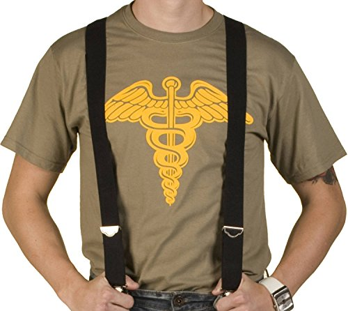 Cameron Caduceus T-shirt for Men. Pre-shrunk cotton. S to 5XL.