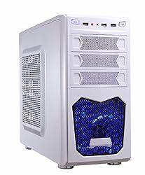 Xion Performance Meshed mATX USB 3.0 Tower Case XON-560_WT White