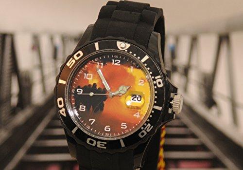 Armbanduhr Feuerwehr IMC Silco schwarz - Sonderedition