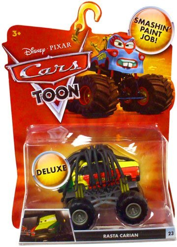 Mattel Disney Pixar Cars 155 Die Cast Car Oversized Vehicle - Rasta Carian - 1