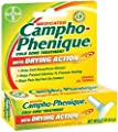 Campho-Phenique Cold Sore Treatment with Drying Action, Maximum Strength Pain Reliever and Antiseptic Gel, .23-Ounce Tubes (Pack of 4)