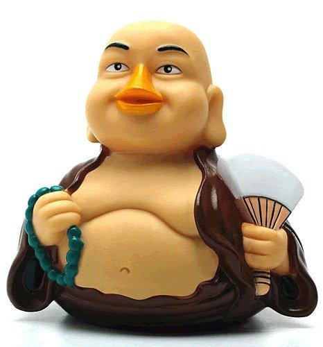 CelebriDucks Fortune Buddha RUBBER DUCK Bath Toy