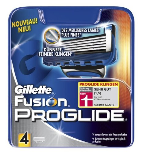 Gillette Fusion ProGlide Klingen, 4er
