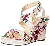 Carlton London Women's Magdalene Multicolor Fashion Sandals - 6 UK/India (39 EU)(CLL-3296)
