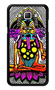 "Humor Gang Trippy Quirky Meditating Print Printed Designer Mobile Back Cover For ""Samsung Galaxy j5"" (3D, Glossy, Premium Quality Snap On Case)"