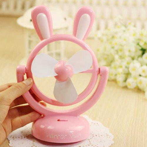 Cartoon Rabbit USB/Battery Desktop Mini Fan