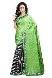 Pruthu Bhagalpuri Silk Sari with Blouse Piece (pbs_laxmi_Color_Blue)