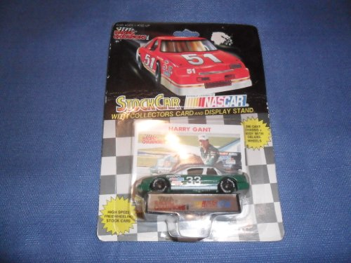 1991 NASCAR Racing Champions . . . Harry Gant #33 1/64 Diecast . . . Includes Collector's Card & Display Stand - 1