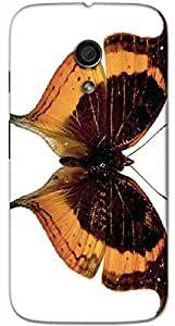 Timpax protective Armor Hard Bumper Back Case Cover. Multicolor printed on 3 Dimensional case with latest & finest graphic design art. Compatible with Motorola Moto -G-2 (2nd Gen )Design No : TDZ-25770