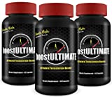 boostULTIMATE Testosterone Booster - Natural Performance & Size Enhancement - Gain 3+ Inches in 60 Days! 100% MONEYBACK GUARANTEE! Lean Muscle Growth & Enlargement Solution for Men - 3 Monthly Supply / 3 Bottles