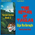 The Return of Tarzan: Tarzan Series, Book 2 Audiobook by Edgar Rice Burroughs Narrated by David Sharp