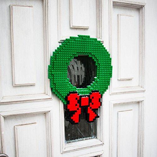 Baustein-Weihnachtskranz