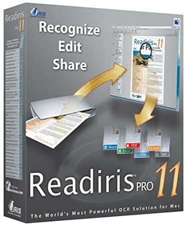 Readiris Pro 11 Corporate Edition (Mac) [Old Version]