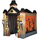 Airblown Archway Haunted Tunnel Halloween Yard Decor