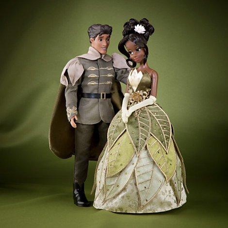 Disney Märchen-Designer Kollektion – Tiana und Prinz Naveen Puppenset – limitierter Edition – Mit Echtheitszertifikat jetzt bestellen