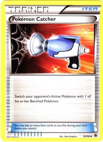 Pokemon - Pokemon Catcher (95) - Emerging Powers - Reverse Holo - 1