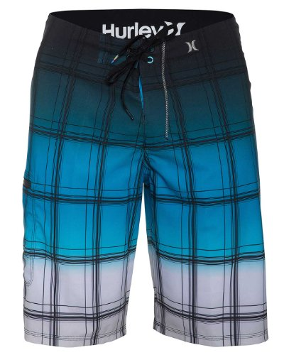 Hurley - Mens Pr Phantom Sands Boardshort, Size: 40, Color: Cyan
