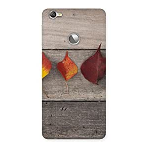 Enticing Leaves on Wood Back Case Cover for LeTV Le 1s