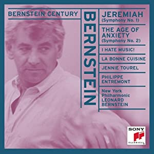 Bernstein: Symphonies No. 1 - Jeremiah, & No. 2 - The Age of Anxiety (Bernstein Century)