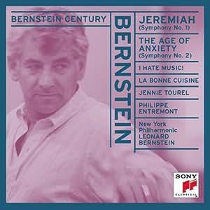 Bernstein: Symphonies No. 1 - Jeremiah, & No. 2 - The Age of Anxiety (Bernstein Century)