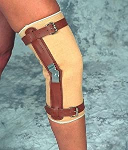 "Knee Sleeve W/Hinges Large 17 1/2"" - 20"" Sportaid"