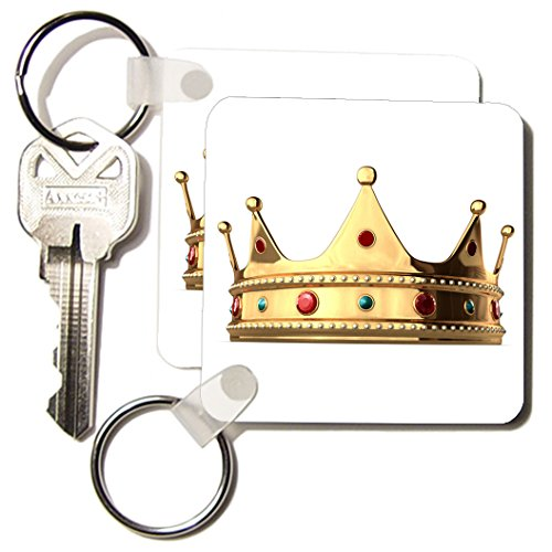 Kc_4313_1 Funny Quotes And Sayings - King Crown - Key Chains - Set Of 2 Key Chains