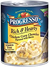 Progresso Soup 6pack Rich amp Hearty Chicken Corn Chowder Flavored with Bacon