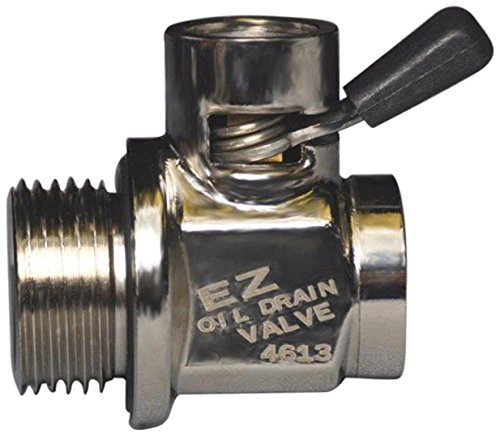 Ez (Ez-105) Silver 20Mm-1.5 Thread Size Oil Drain Valve