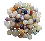 ITOS365 Pebbles Glossy Home Decorative Vase Fillers Stone , 1 KG