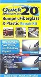 Quick 20 Bumper Fiberglass and Plastic Repair Kit