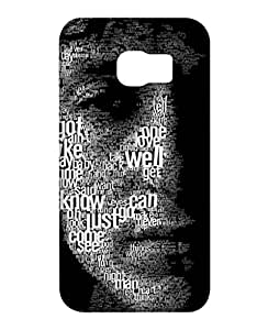 Crackndeal Back Cover for Samsung Galaxy S6 Edge