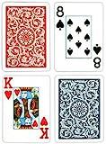 Copag Poker Size Jumbo Index 1546 Playing Cards (Blue Red Setup)