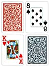 Copag Poker Size Jumbo Index 1546 Playing Cards Blue Red Setup