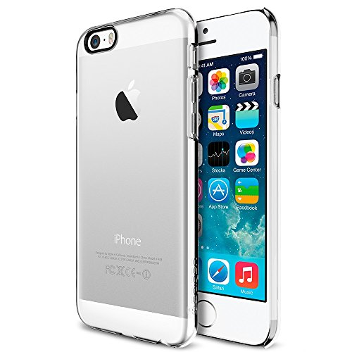 iPhone 6 ケース, Spigen® [パーフェクト-フィット] シン ・フィット The New iPhone アイフォン6 (2014) (国内正規品) (クリスタル・クリア SGP10939)