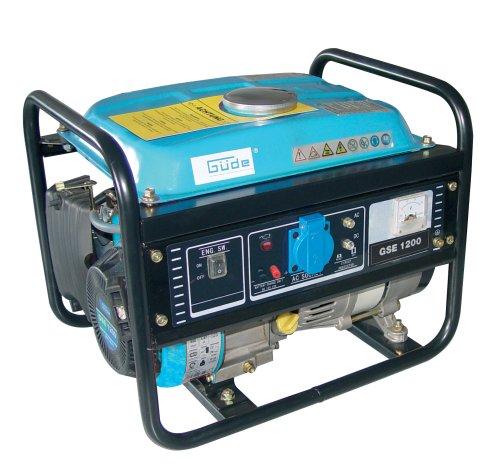 Güde 40639 Stromerzeuger GSE 1200 4T, 850/950W 1 Zylinder/4-Takt-Motor 1,75 kW/2,4 PS