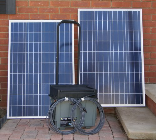 Solar Generator Plug n Play 2X100watt panels 200watts Solar Xantrex xpower 1500 By Offgridsolargenerators
