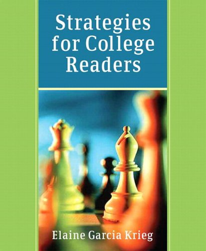 Strategies for College Readers (with MyReadingLab Student...