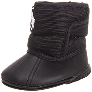 Amazon.com: Ralph Lauren Layette Vancouver EZ Crest Boot