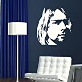 Kurt Kobain Wall Sticker / Decal Transfer / Large Vinyl Art Graphic Stencil CE5