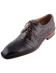 D.Desire Men's Leather Formals & Lace-Up Flats - B00Y1EILU2