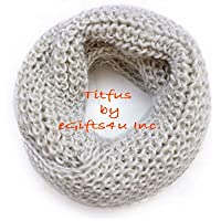 Chunky Knit Infinity Scarf Unisex Sup…