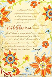 Fresh Scents Scented Sachets - Wildflowers, Lot of 6