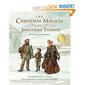"""The Christmas Miracle of Jonathan Toomey"" by Susan Wojciechowski :Book Review"